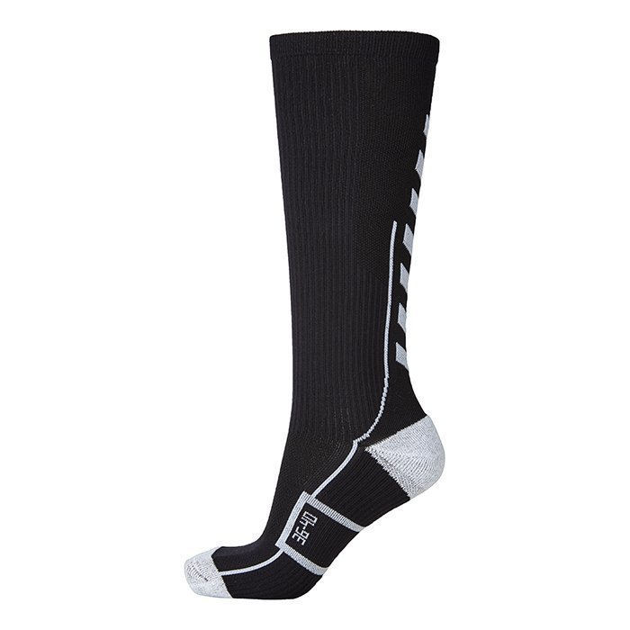 Hummel Tech Indoor Sock High Black/White 41-45