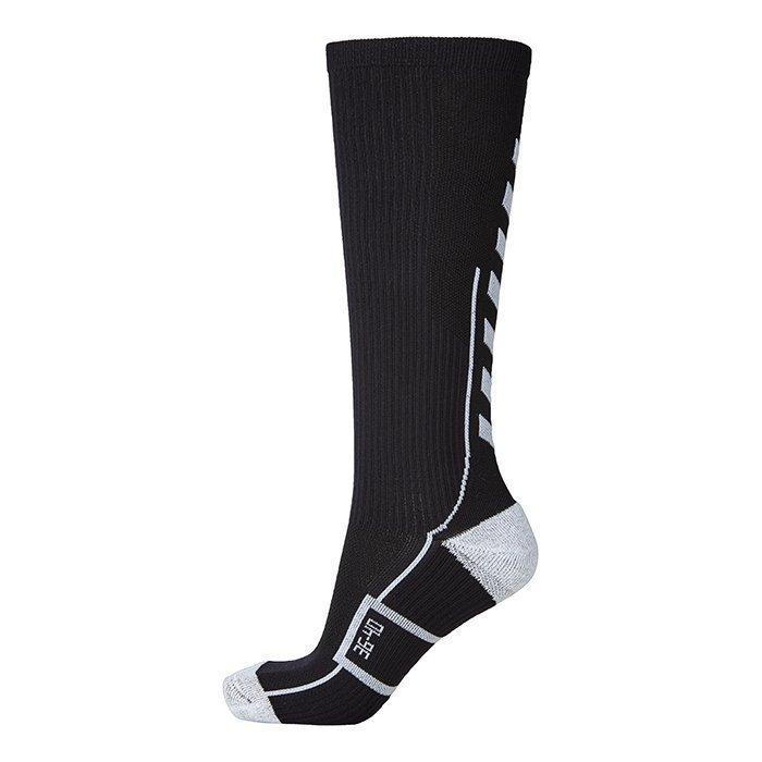 Hummel Tech Indoor Sock High Black/White 46-48