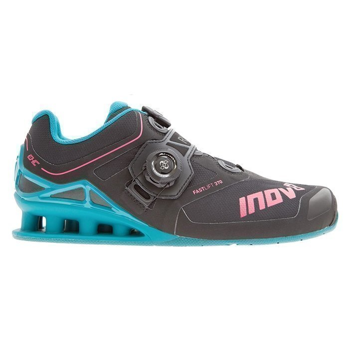 Inov-8 Women's FastLift 370 Boa Black/Teal/Berry 38 1/2