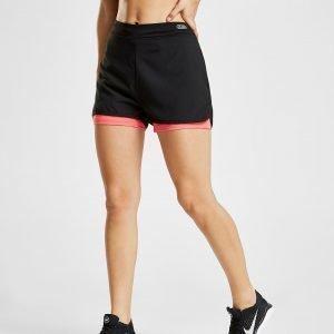 Inq Fabiene 2-In-1 Shorts Musta
