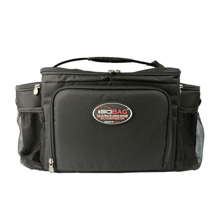 Isobag 6 Meal Bag Black