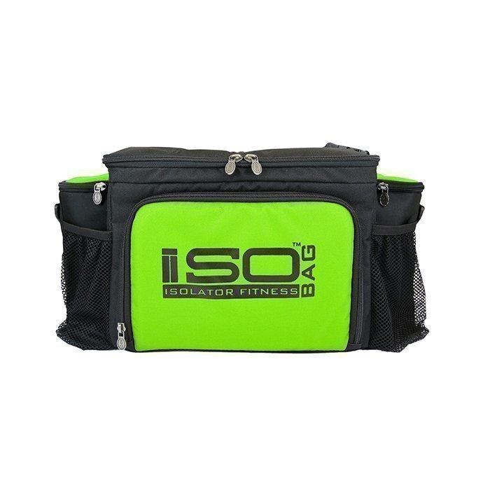 Isobag 6 Meal Bag Black/Green