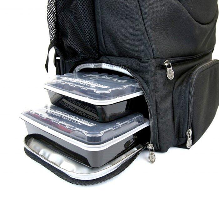 Isobag Isopack Backpack Black