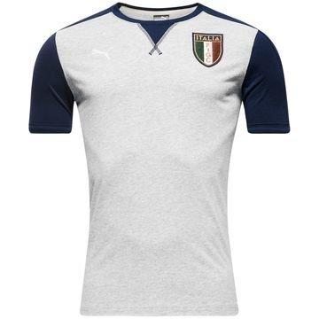 Italia T-paita Badge Harmaa