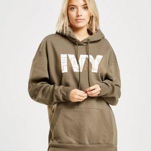 Ivy Park Layer Logo Overhead Huppari Khaki