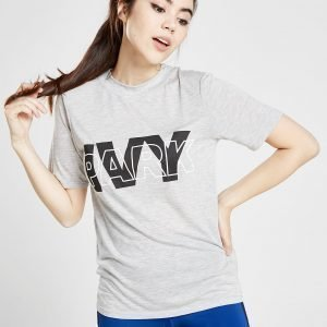 Ivy Park Layer Logo Slim T-Shirt Harmaa