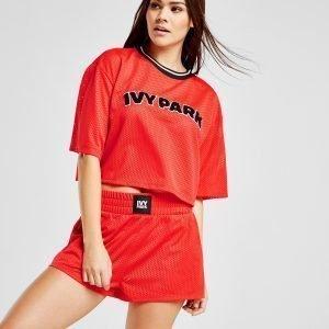 Ivy Park Mesh Logo Shortsit Punainen