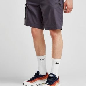 Jack Wolfskin Contrast Pocket Shorts Charcoal