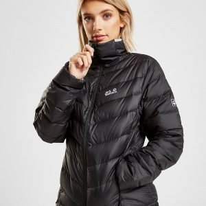 Jack Wolfskin Helium High Padded Jacket Musta