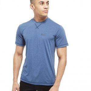 Jack Wolfskin Short Sleeve Core Tech T-Shirt Laivastonsininen