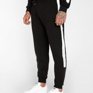 Jameson Carter Paint Stripe Track Pants Musta