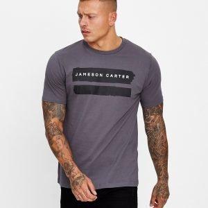 Jameson Carter Paint T-Paita Harmaa