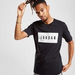 Jordan Camo Box T-Shirt Musta