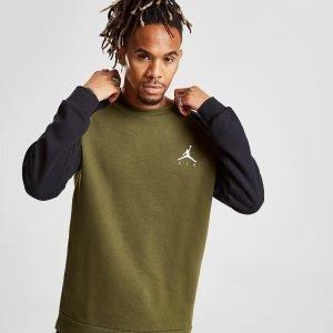 Jordan Fleece Crew Sweatshirt Vihreä