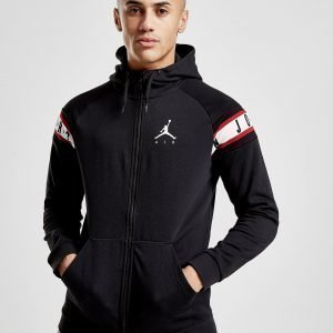 Jordan Fleece Tape Full Zip Huppari Musta