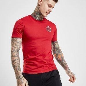 Jordan Globe T-Shirt Punainen