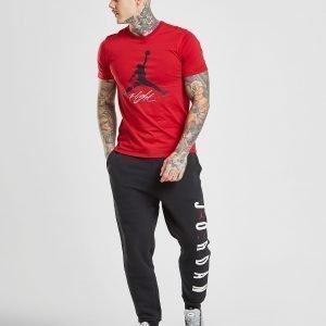 Jordan Leg Branded Track Pants Musta