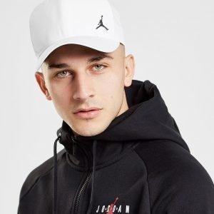 Jordan Metallic Jumpman Cap Valkoinen