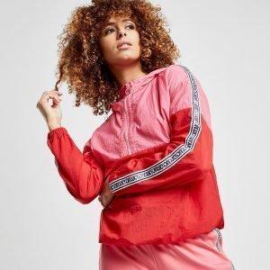Juicy By Juicy Couture Colour Block 1/4 Zip Hoodie Punainen