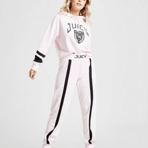 Juicy By Juicy Couture Racer Track Pants Vaaleanpunainen