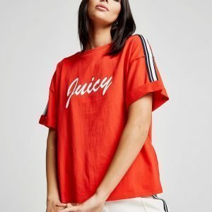 Juicy By Juicy Couture Raglan Sleeve T-Paita Punainen