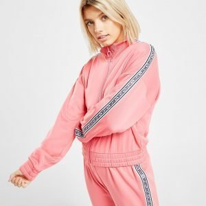 Juicy By Juicy Couture Tape Poly Full Zip Track Top Vaaleanpunainen