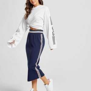 Juicy By Juicy Couture Tape Text Midi Skirt Sininen