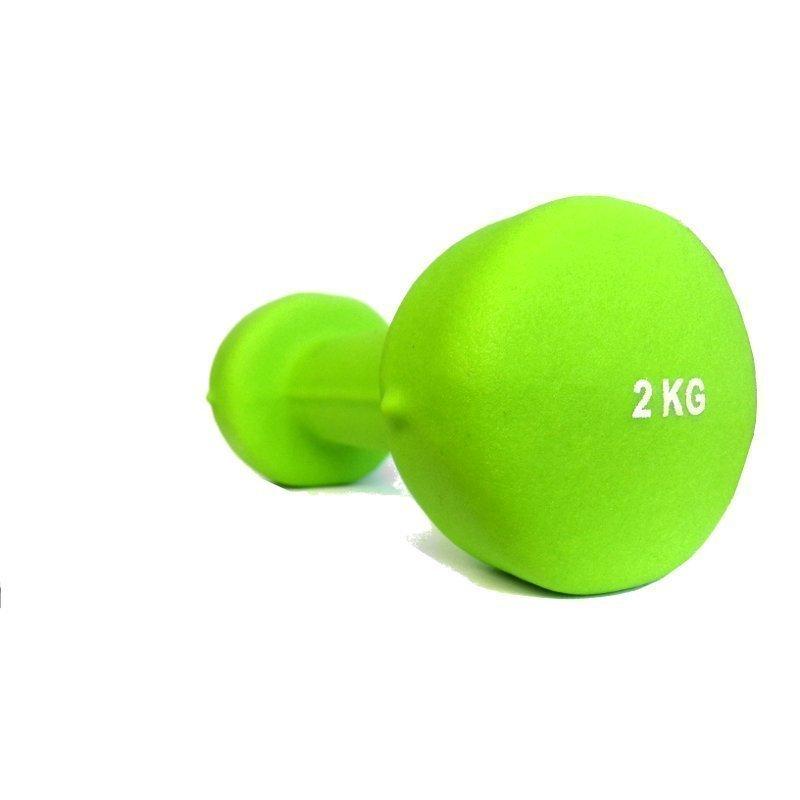 Käsipainot 2kg Neopreeni