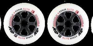 K2 Elite Wheel Rullaluistimen Rengas 110 Mm 4-Pakkaus