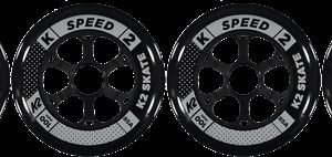 K2 Speed Wheel Rullaluistimen Rengas 100 Mm 4-Pakkaus