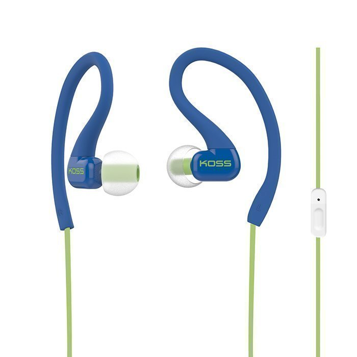 KOSS KSC32i headphones In-ear Mic Blue