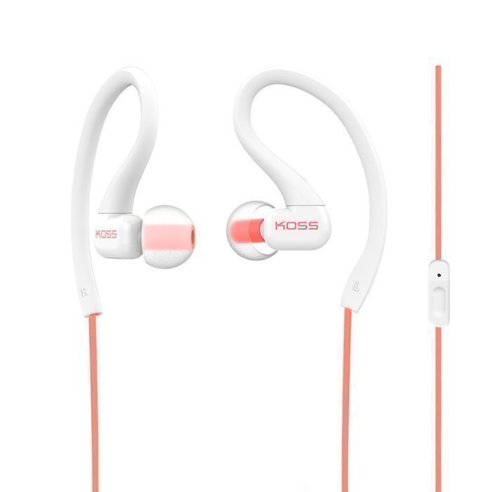 KOSS KSC32i headphones In-ear Mic Coral
