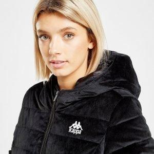Kappa Velvet Padded Jacket Musta