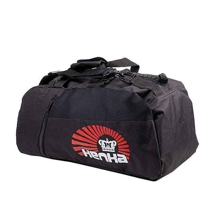 Kenka Giant Zipper Bag black