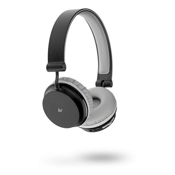 Kitsound Metro Wireless On-ear Mic Black