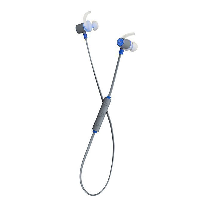 Kitsound Outrun Sport Wireless In-ear Mic Blue