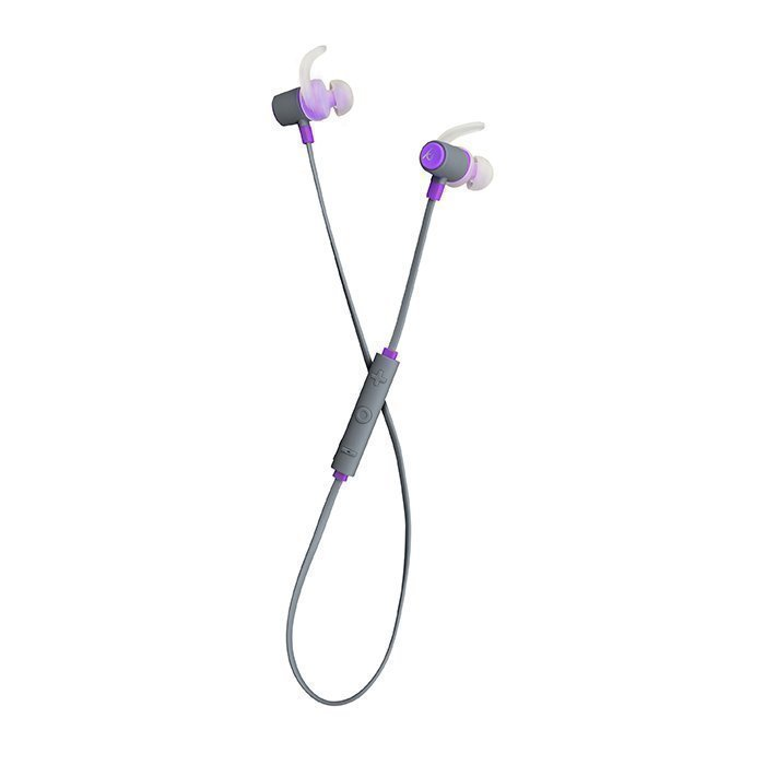 Kitsound Outrun Sport Wireless In-ear Mic Purple