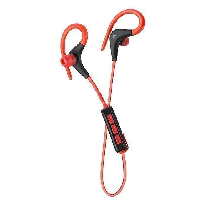 Kitsound Wireless In-ear Mic Race red