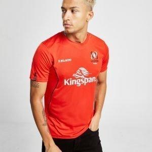 Kukri Ulster Rugby Short Sleeve T-Shirt Punainen