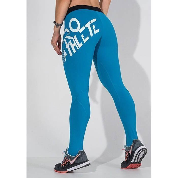Labellla Mafia Blue Torn Ultimate Leggings Blue