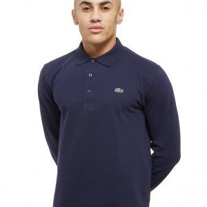 Lacoste Alligator Long Sleeve Polo Shirt Laivastonsininen