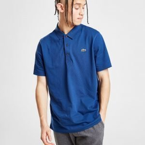 Lacoste Alligator Short Sleeve Polo Shirt Laivastonsininen