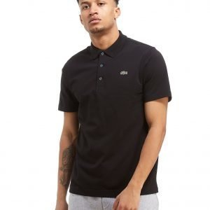 Lacoste Alligator Short Sleeve Polo Shirt Musta