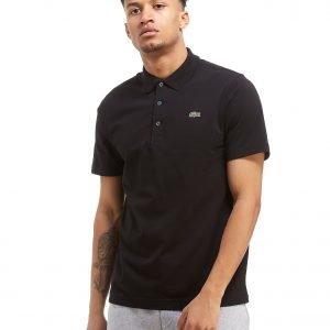 Lacoste Alligator Short Sleeve Polo Shirt Musta