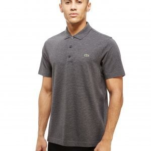 Lacoste Alligator Short Sleeve Polo Shirt Pitch Grey