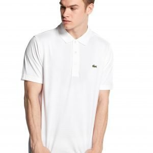 Lacoste Alligator Short Sleeve Polo Shirt Valkoinen
