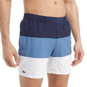 Lacoste Colour Block Swim Shorts Sininen