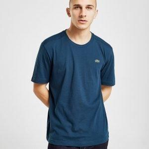Lacoste Croc Logo Short Sleeve T-Paita Sininen