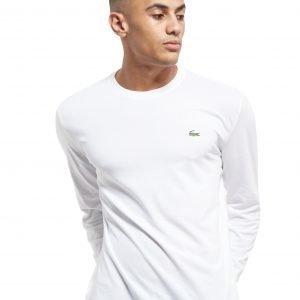 Lacoste Croc Long-Sleeved T-Shirt Valkoinen