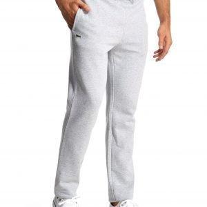 Lacoste Cuffed Fleece Track Pants Grey Marl / Argent
